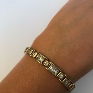Other - Men's Gold Tone Bracelet
